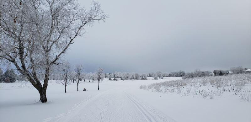 Pleasant View Golf Course Ski Trails, Middleton, WI