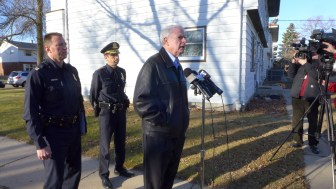 """Milwaukee Mayor Tom Barrett at a Dec. 28 news conference regarding the shooting death of Bill Thao, a 13-month-old. He decried those responsible for firing bullets into a house as having """"no moral compass."""""""