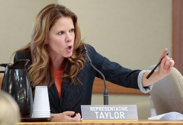 State Rep. Chris Taylor, D-Madison, on Friday announced she plans to introduce a bill with Rep. LaTonya Johnson, D-Milwaukee, that would require the state Department of Health Services to test drinking water when a child is lead poisoned.