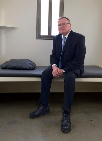 Rick Raemisch, executive director of the Colorado Department of Corrections, sits in a cell similar to the one where he spent nearly a day in 2014. Raemisch found himself pacing, losing track of time and counting nicks in the wall to occupy his mind. And he was there for just 20 hours — not the 20-plus years some Colorado inmates had endured before the state eliminated indefinite use of solitary confinement.