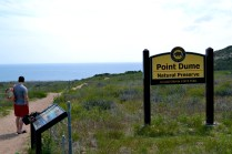Entrance/sign to Point Dume