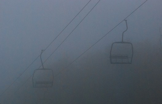 Eerie Ski Lift