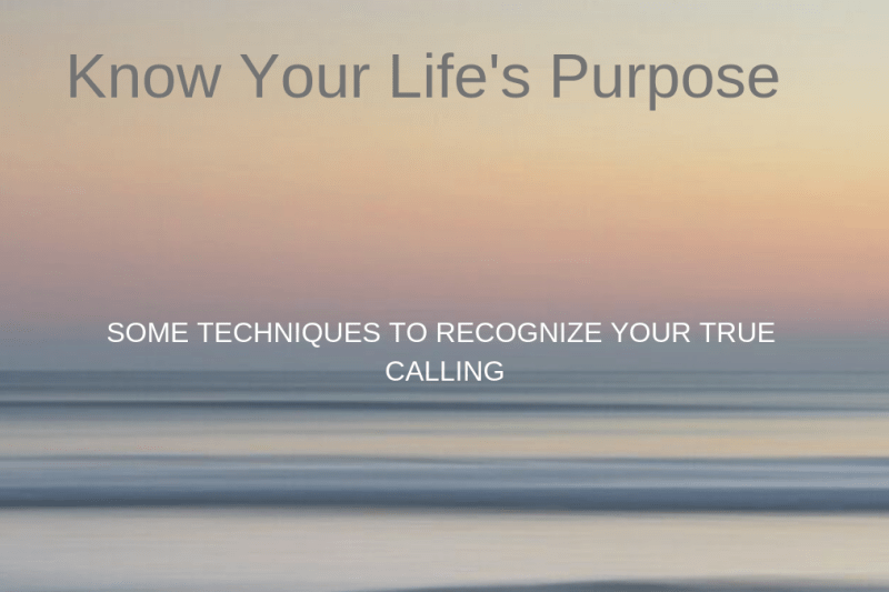 Do You Need to Get into the Wilderness to Know your Life's Purpose?