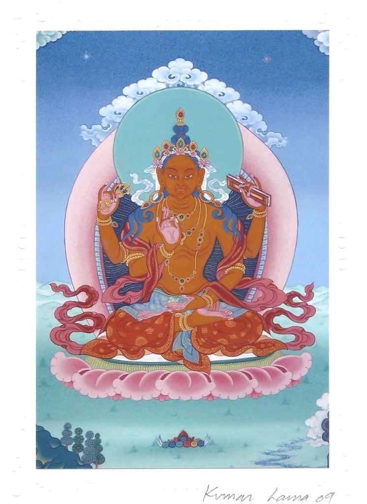 Phật Mẫu Bát Nhã Tên Phạn: Prajñāpāramitā Tên tạng: ཤེས་རབ་ཀྱི་ཕ་རོལ་ཏུ་ཕྱིན་པ་ Yum Chenmo Nguồn hình ảnh: dharmatreasures.com