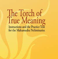 Torch of True Meaning- Instructions and the Practice for the Mahamudra Preliminaries