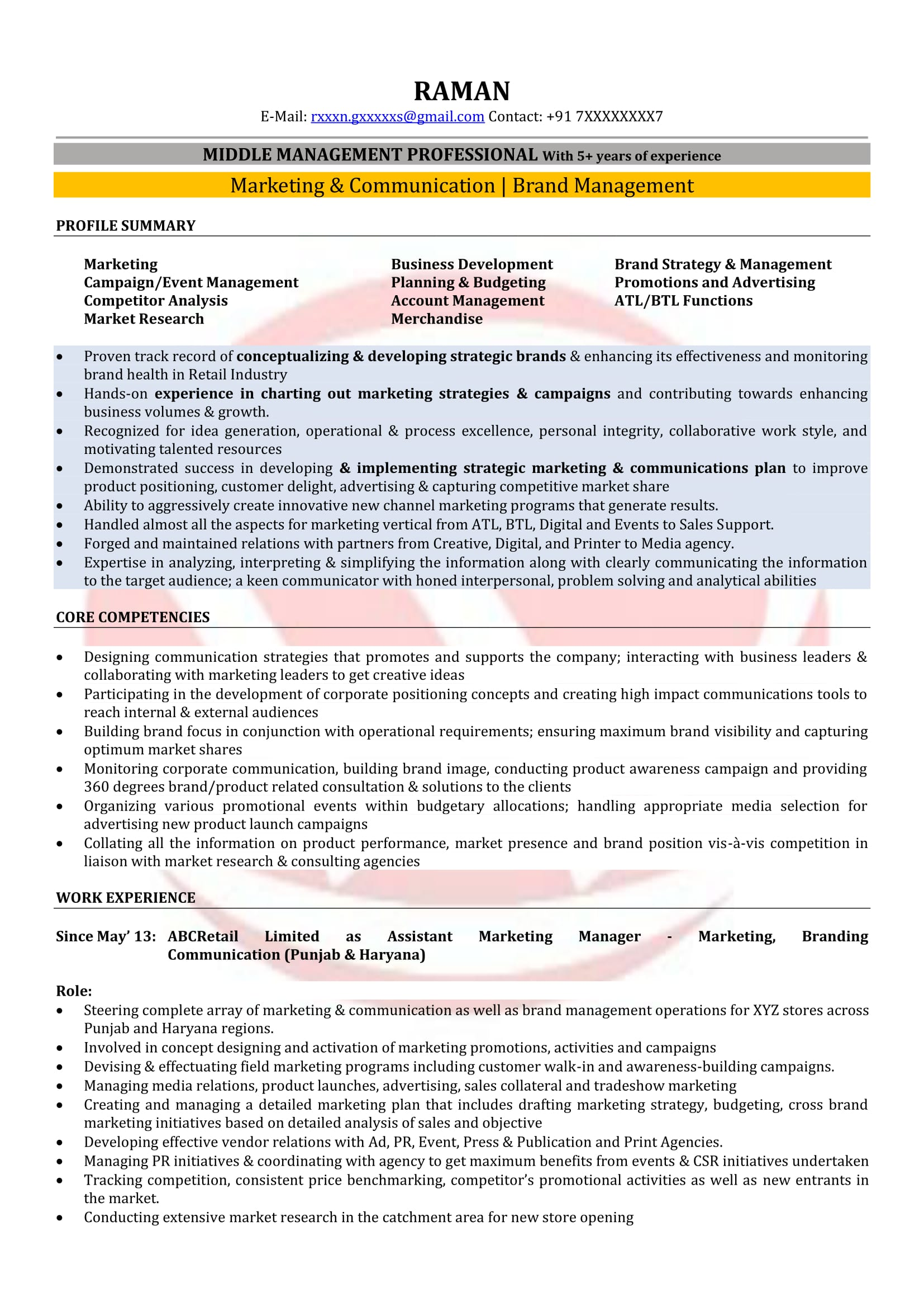 Sales And Marketing Coordinator Resume Marketing Manager Sample Resumes Download Resume Format