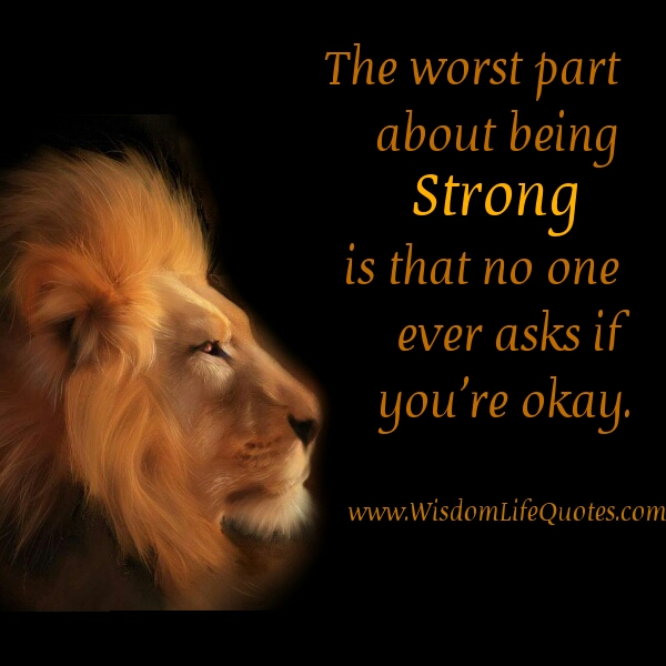 Lion And Being Strong Quotes Quotesgram