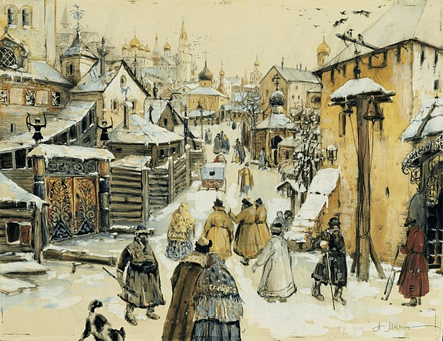 digital history of Russia | society in the 17th century
