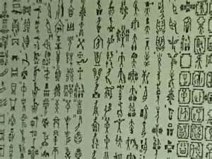 digital history of China | written language in the Shang dynasty