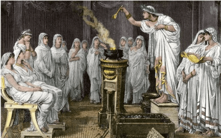 digital history religion in ancient Greece