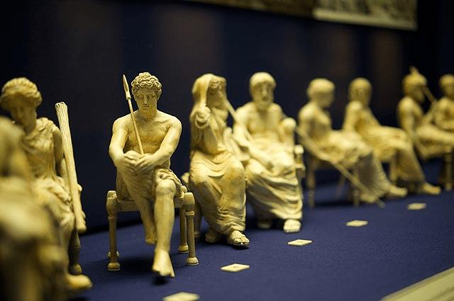 digital history religion in ancient Greece   deities