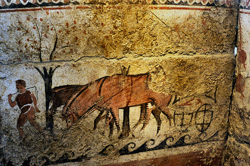 digital history of the economy of ancient Greece | agriculture