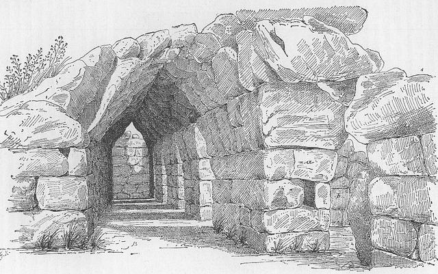 digital history of Mycenae   Tiryns