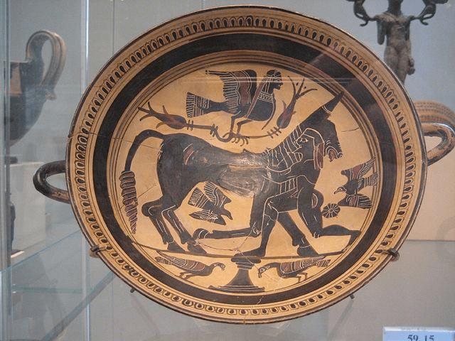 digital history of Minoan Crete | pottery