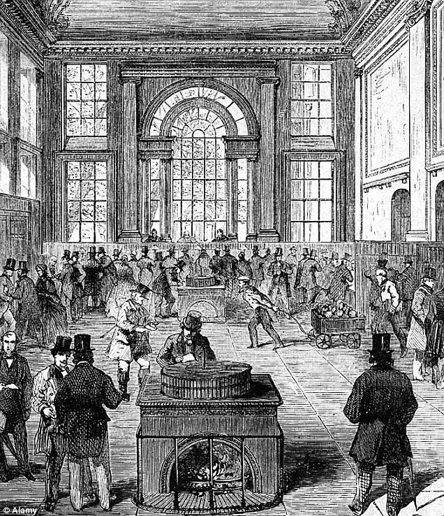 digital history 17th century West | banking