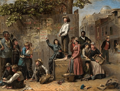 digital history of America 1815-1830 | power