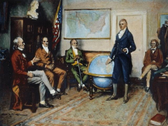 digital history of America 1815-1830 | Era of Good Feelings