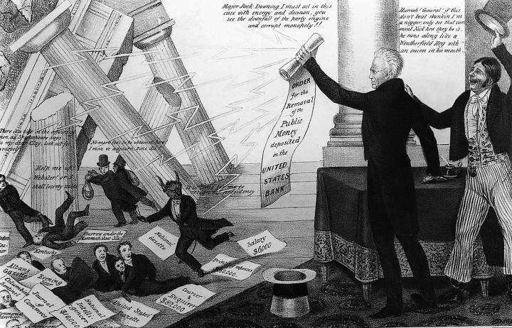 digital history of America 1815-1830 | Bank War