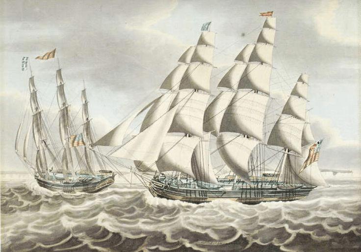 digital history of America 1830-1860 | economy | merchant capitalism