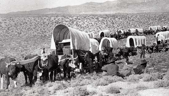 Westward Migration: life on the trail