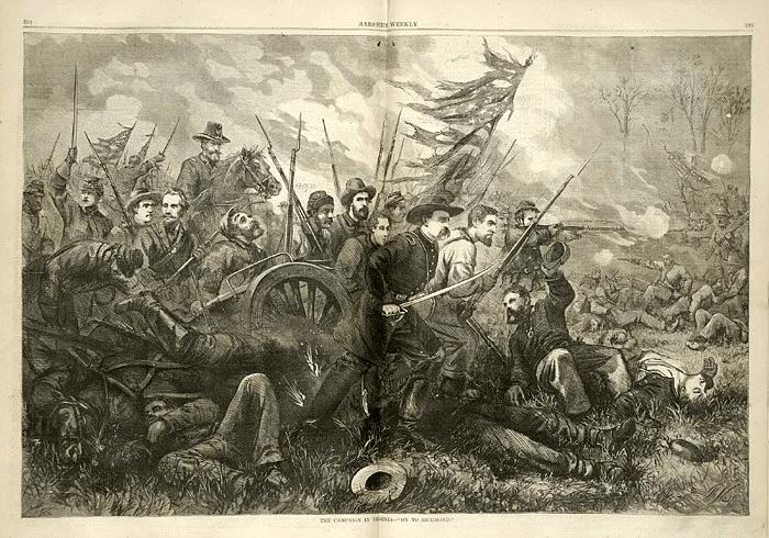 digital history of the Civil War | Peninsular Campaign