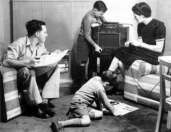 digital history of America 1945-1960   society