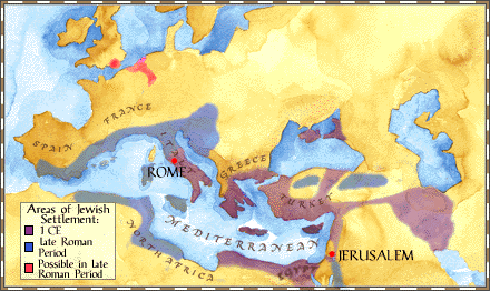 Judaism in the Roman Empire | society | dispersion