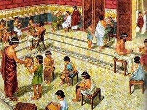 digital history of society in Greece | education