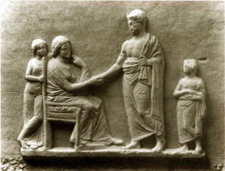 digital history of society in Greece | family