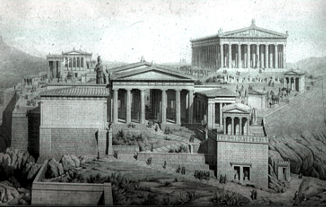 digital history of the Classical Era | temples 5th century
