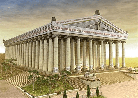 digital history of the Classical Era | temples | Third Temple of Artemis