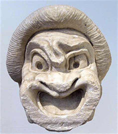 digital history of the Classical Era | comedy