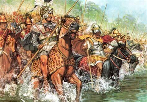 digital history of Alexander the Great | rebellion of Greece