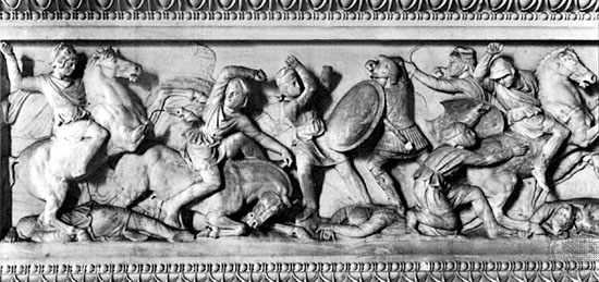 digital history of Alexander the Great | campaign in Asia