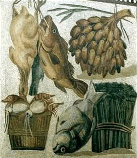 digital history of society in Rome | food