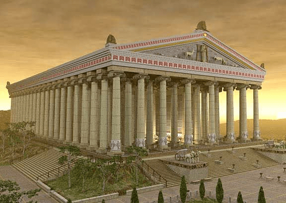 digital history of culture in Rome | temples