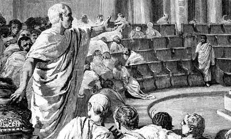 digital history of culture in Rome | rhetoric
