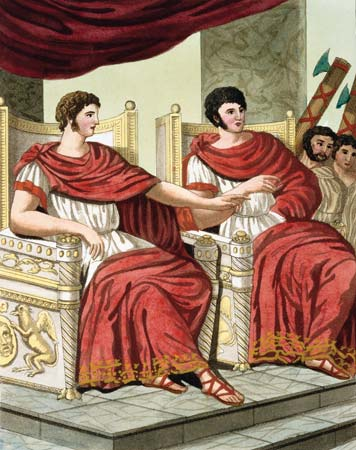 digital history of power in Rome | executive