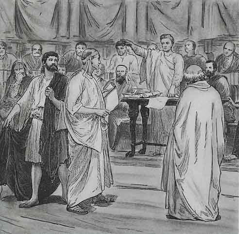 digital history of power in Rome | types of law