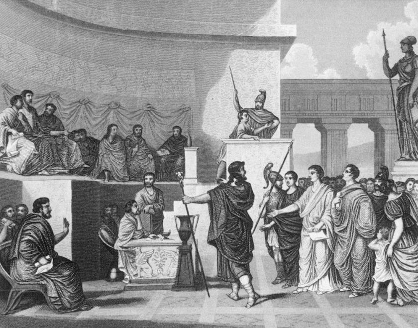 digital history of the Roman Empire | governance