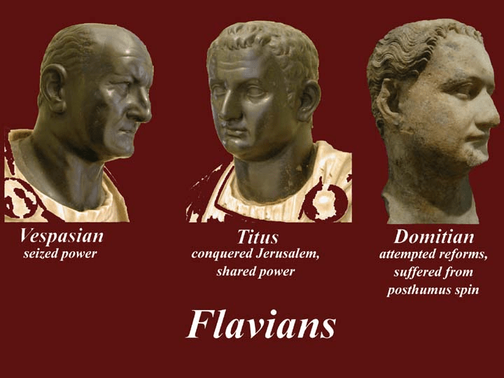 digital history of the Roman Empire | Flavian Dynasty
