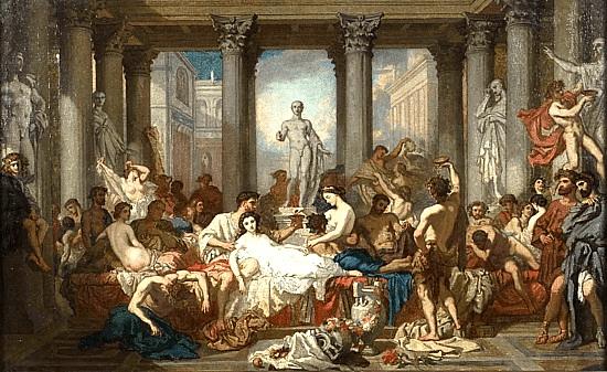 digital history of the Roman Empire | economic anarchy