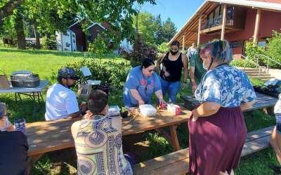 Wisdom Internship Traditional Ecological Knowledge Day on Zenger Farm