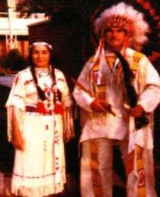 Alma with William F. Snell, Sr.