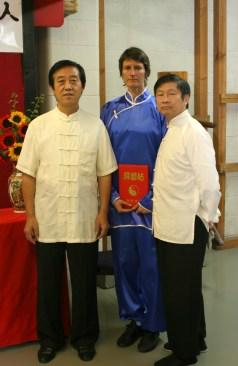 Grandmaster Chen Zhenglei, Viola Brumbaugh, Master David Leung