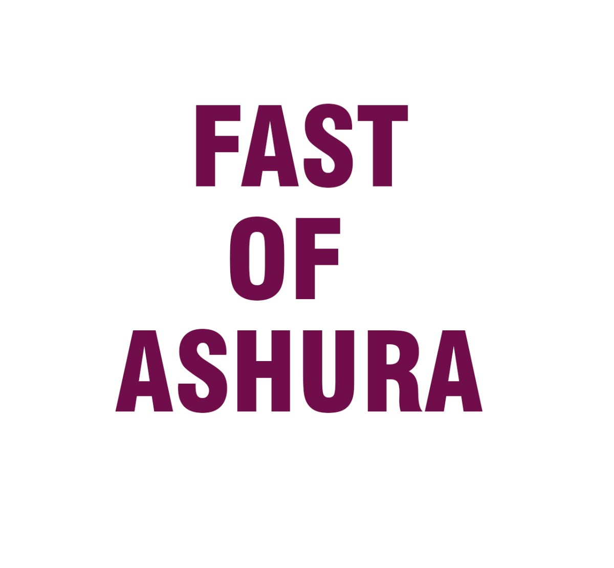 fast of ashura