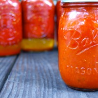 On Canning Tomatoes