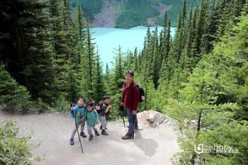 加拿大 | 加西露營行程Day 07。Lake Louise.露易絲湖美麗雙湖