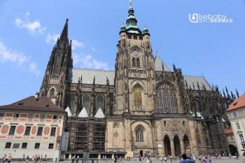 捷克布拉格。聖維特大教堂St. Vitus Cathedral.捷克最大的天主教堂