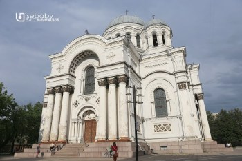 立陶宛   考納斯拜占庭式教堂。聖彌額爾總領天使教堂